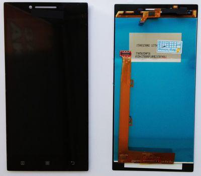 Модуль (сенсор и дисплей) Lenovo P70 черный ORIGINAL, фото 3