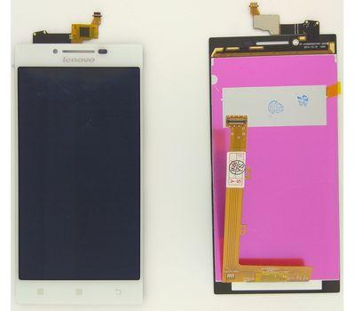Модуль (сенсор и дисплей) Lenovo P70 белый ORIGINAL, фото 2