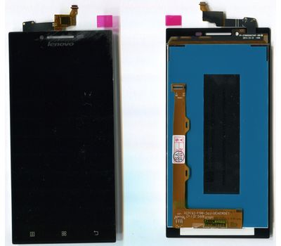 Модуль (сенсор и дисплей) Lenovo P70 черный ORIGINAL, фото 1