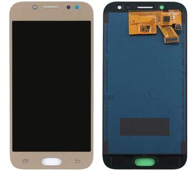 Модуль (сенсор и дисплей) Samsung Galaxy J5 2017 J530F TFT золотой Gold (яркость регулируется), фото 1