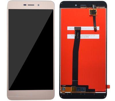 Модуль (сенсор и дисплей) Xiaomi RedMi 4a золотой, фото 2