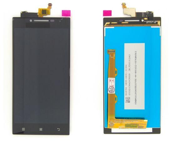 Модуль (сенсор и дисплей) Lenovo P70 черный ORIGINAL, MSS09096O фото 5