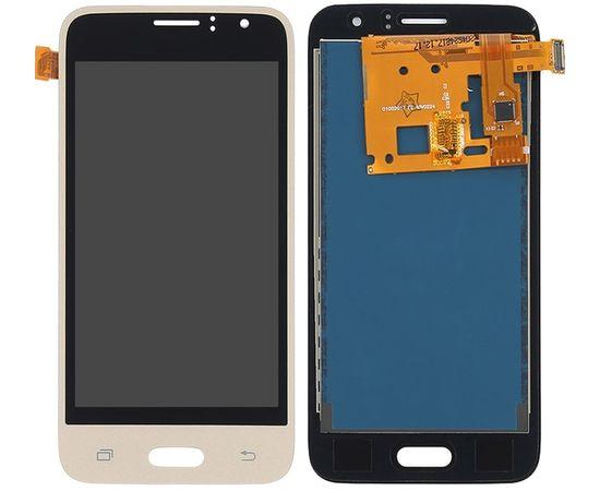 Модуль (сенсор и дисплей) Samsung GALAXY J1 2016 J120 / J120H / J120F / J120A / J120M золото (яркость регулируется), MSS08127G фото 1