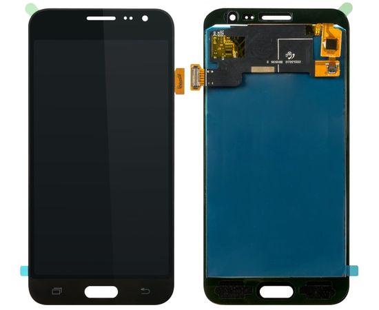 Модуль (сенсор и дисплей) Samsung Galaxy J3 2016 J320 черный (яркость регулируется), MSS08126 фото 1