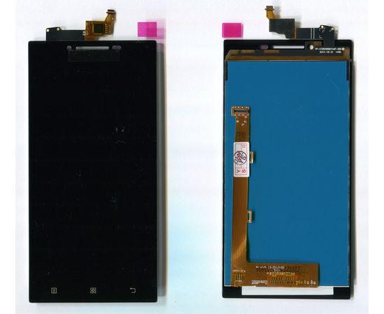 Модуль (сенсор и дисплей) Lenovo P70 черный ORIGINAL, MSS09096O фото 4
