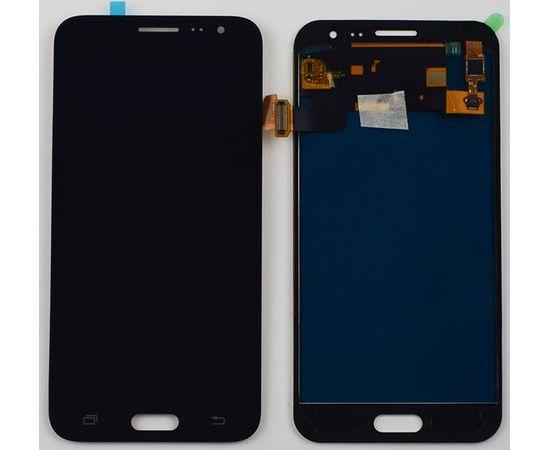 Модуль (сенсор и дисплей) Samsung Galaxy J3 2016 J320 черный (яркость регулируется), MSS08126 фото 2
