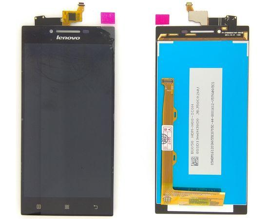 Модуль (сенсор и дисплей) Lenovo P70 черный ORIGINAL, MSS09096O фото 2