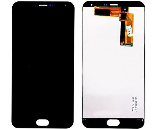 Модуль (тачскрин и дисплей) Meizu M2 Note черный, MSS12010 фото 3